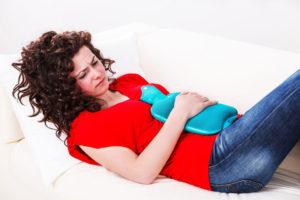 bolesne menstruacje